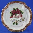 Fitz & Floyd HOLIDAY BELLS Cookie Canape Plate