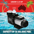 25hp Pool Pump Motor Above Ground Swimming Pool Filter Hi Flo W Strainer Baske