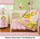 SAFARI Animal KIDS LINE ZOLA Infant Girls 11 Piece Crib BEDDING Set MATTRESS pad