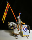 French Knight, XII- mounted toy soldier 54mm Frontline