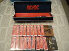 AC/DC Japanese CD Boxset - Rare - Import - OOP - Complete Set Of Uncut OBI's