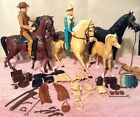Vintage Marx Johnny Jane West W Horses Accessories