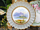 EARLY 19TH CENTURY COPELAND SPODE PLATE PAINTED BEADED DESIGN
