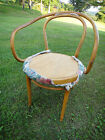 Thonet ? Vintage Modern Bentwood Chair Deco Flared Arms MCM  project!