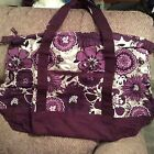 NIP Plum Awesome Blossom Retro Metro Weekender Thirty One Bag 31