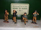 King & Country WW2 German WS 016 Wittman Tiger 1 Tank Crew add on set SUPER RARE