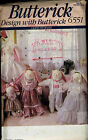 6551 Butterick Wedding Party Bunnies Doll Pattern & Clothes - Easter Rabbits