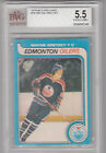 OPC O-Pee-Chee 1979-80 Gretzky Rookie Card #18 - Graded Beckett BVG 5.5