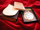 BOXED HAMILTON 992E 21J ELINVAR  RAILROAD POCKET WATCH # 10 YGF CASE A BEAUTY!