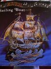 Vintage Copper Sailing Musical Boat Great Condition With Box