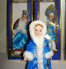 1  Porcelain doll Russian snow maiden  7.5