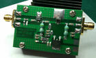 1MHz--500MHZ 1.5W HF FM VHF UHF RF Power Amplifier for ham radio + Heatsink