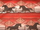 Southwest Horses Snuggle Flannel 100 Cotton Fabric Rust Browns Creams