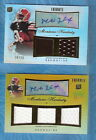 MONTARIO HARDESTY AUTO JERSEY 2010 TOPPS TRIBUTE GOLD & REG RC'S #12 15 BROWNS