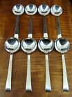 INTERNATIONAL Continental Set 8 Cream Soup Spoons 6 1/4