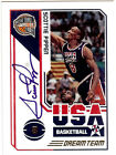2009-10 Panini Hall Of Fame USA Olympic DREAM TEAM Autograph SCOTTIE PIPPEN 24 4