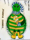 VTG CUT N SEW FABRIC Stuffed Animal Tommy Turtle 70's Pillow Panel