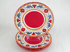 Tabletops Gallery Italiano Hand Painted Dish Dinner Plate Serving Platter 11.5