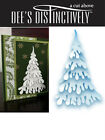 DEES DISTINCTIVELY DIES  SNOW COVERED STACKER TREE IME027 CHRISTMAS CARDS