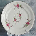 Wawel China, China Made in Poland, Rose Garden Bread Plate Dessert Plate, White