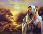 Handicraft Portrait Modern oil painting canvas Jesus 24x36inch (No stretch)