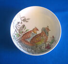 Ruffed Grouse Coaster Johnson Brothers Ironstone Round England Excellent