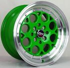 4 DRIFT DR5 WHEELS 15X8 +25 4X100 SCION XA XB IQ TOYOTA COROLLA ECHO MR2 J