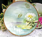 ANTIQUE RICHARD GINORI HAND PAINTED ITALY ARTIST SIGNED PLATE A/F