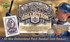 2003 Upper Deck UD Patch Collection MLB Baseball Hobby Box