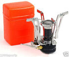 Mini Backpacking Outdoor Gas Butane Propane Canister Camping Stove Burner Fold#1