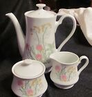 *TEA SET* 3 PC Herbs & Spices Pattern VTG SHAFFORD 1970's *Made in Japan*