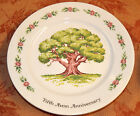 Avon Fifth Anniversary Collectors Plate The Great Oak with 24K Gold Trim