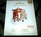 HALLMARK Keepsake Ornament 2006 RUDOLPH AND CLARICE Light THE RED NOSED REINDEER