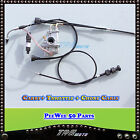 YAMAHA PW50 CARBURETOR CARBY THROTTLE CABLE CHOKE CABLE Y ZING PEEWEE 50CC