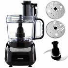 500W Electric Food Processor/Slicer/Sheredder/Chopper Blades/Mixer/Salad Maker