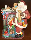 Enesco Santa with Fireplace Deluxe