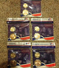 ALL 5 2009 PRESIDENTIAL 1 DOLLAR COIN  FIRST SPOUSE MINT MEDAL SETS COMPLETE