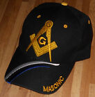 Unique Free Mason Cap Collectable Gift Masonic Freemasonry Black Lodge Hat