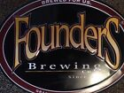 LARGE Founders Brewing Tin Tacker - Metal Craft Beer Brewery Sign - 20