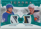 2011-12 ARTIFACTS - GERBE STAFFORD TUNDRA TANDEMS EMERALD PATCHES #TT2-GS 30 50