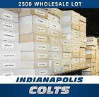 (2500) INDIANAPOLIS COLTS FOOTBALL CARD LOT COLLECTION