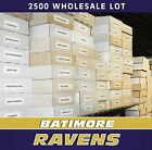 (2500) BALTIMORE RAVENS FOOTBALL CARD LOT COLLECTION