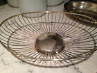 Vintage Silverplate Oval Bread Serving Bowl