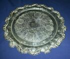 Vintage Ornate Silverplated Serving Plate/Tray