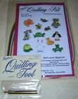 Beginners QUILLING kit ANIMALS w tool and EXTRA paper Paplin FREE SHipping