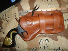 Ruger Vaquero  Ruger Single Six 4 5 8 Double Loop Brown Leather Holster