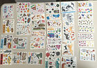 Creative Memories Studio and Block Stickers TRAVEL ABROADDECADE INSECTS