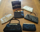 Lot of 7 Vintage Hand Bags Designer Crown Lewis  Bags by Edwards  After Fun ++