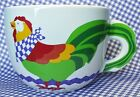 Oversized Coffee Mug Cup Soup Bowl FTD Rooster Chicken Large 16 oz Country Decor