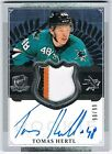 2013-14 THE CUP ROOKIE AUTOGRAPH PATCH RPA #189 TOMAS HERTL 90 99 !! 4 COLOR !!